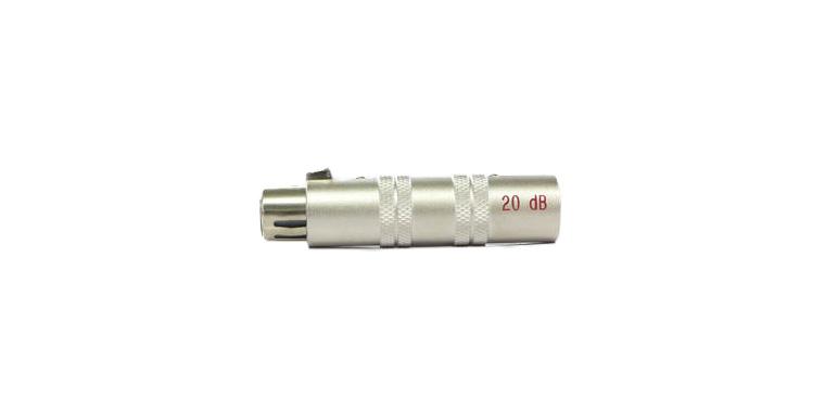 XLR -20dbアッテネーター