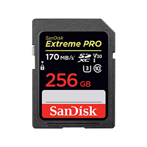 SDカード 256GB [Extreme PRO]